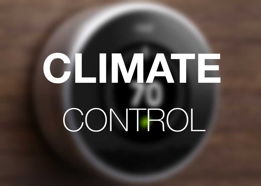 Climate Control - Home Automation Concepts