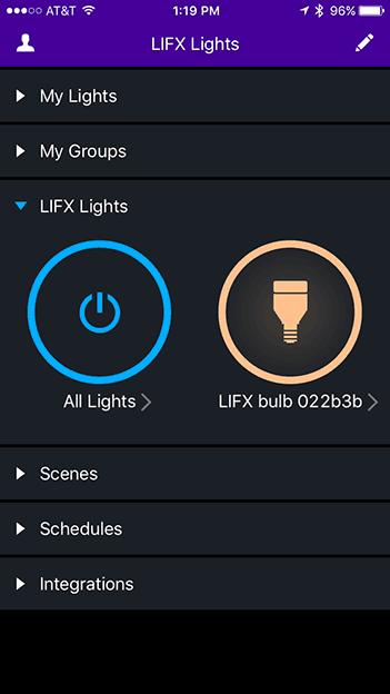 Installing LIFX bulb- Setup-Step-5