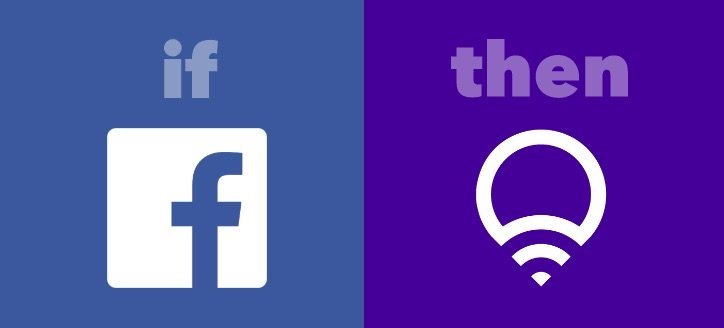 facebook - LifX - Use Cases - Ifttt