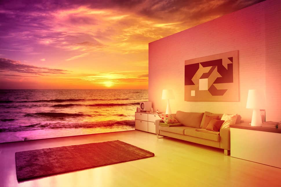 Mood Lighting in home automation
