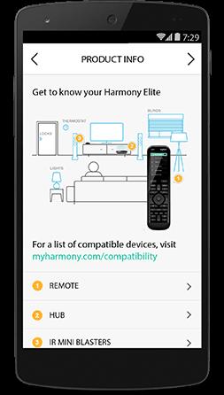 Harmony Elite Mobile setup 02