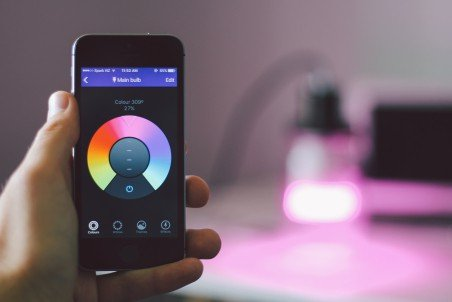 LIFX App Color Wheel