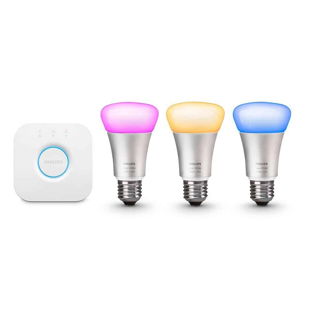 philips hue white and color ambience kit a19 2nd generation smartify automation. Black Bedroom Furniture Sets. Home Design Ideas