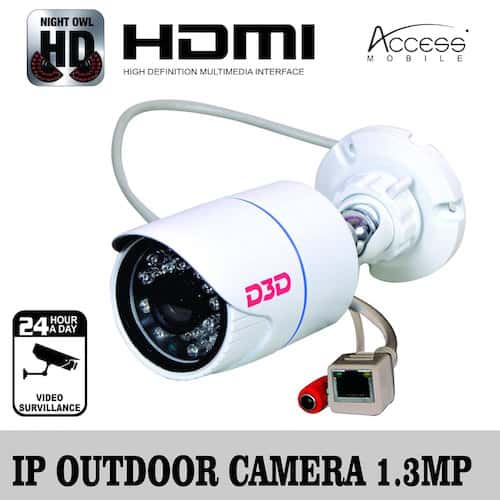 D3D Wireless IP Camera Full HD - Smartify Automation Store
