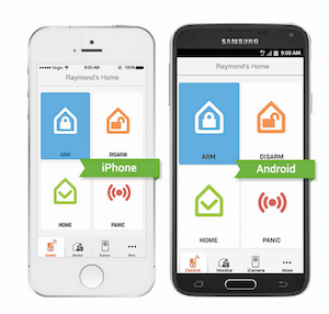 iSmartAlarm Home Security app