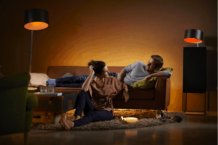 Philips Hue White and Colour Ambiance GU10 Starter Kit