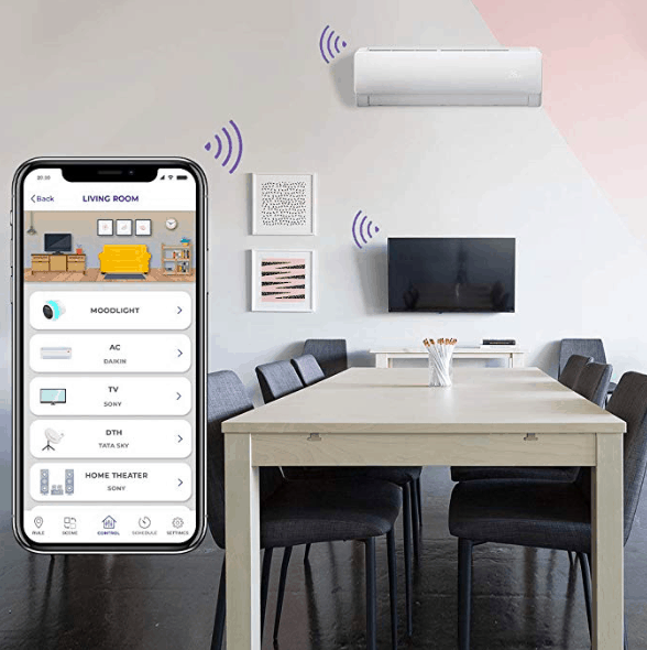 zemote smart universal remote+,control from anywhere