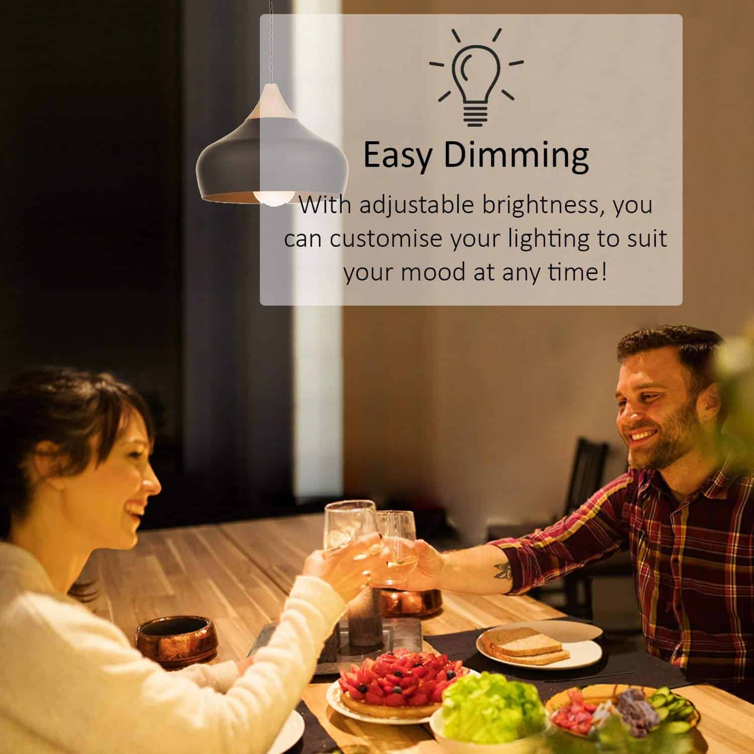 TP-Link Smart Wi-Fi LED Bulb LB110 - Easy Dimming